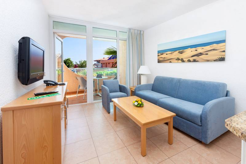 Superior double apartment with air conditioning mur aparthotel buenos aires gran canaria
